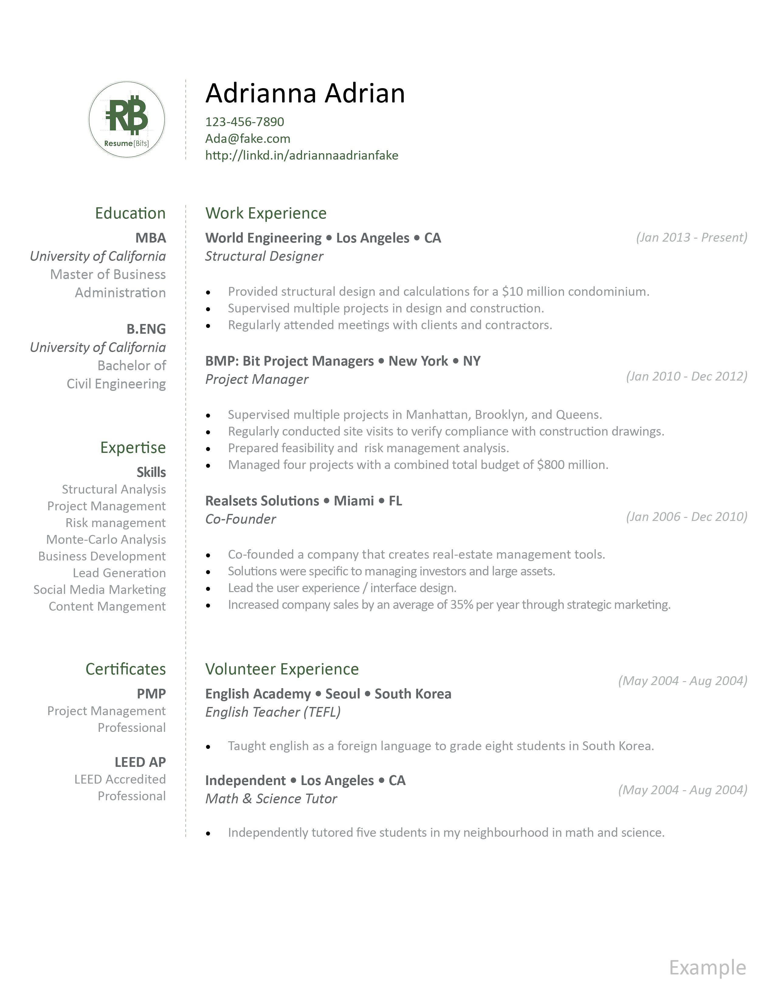 Resume Examples 2018 Reddit