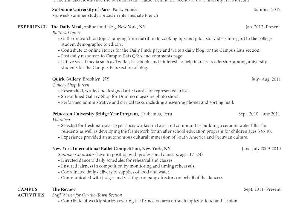 free resume templates 2018 australia