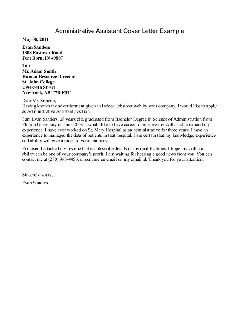 Cover Letter Template Jobstreet