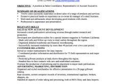 A Functional Resume Examples