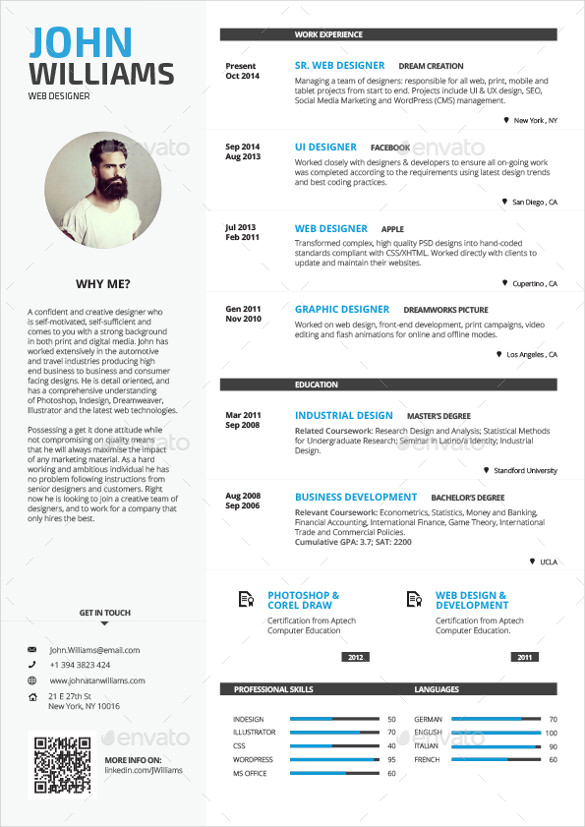 Cover Letter Template With Photo