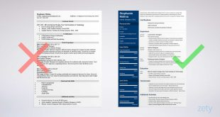 Free Resume Templates Zety