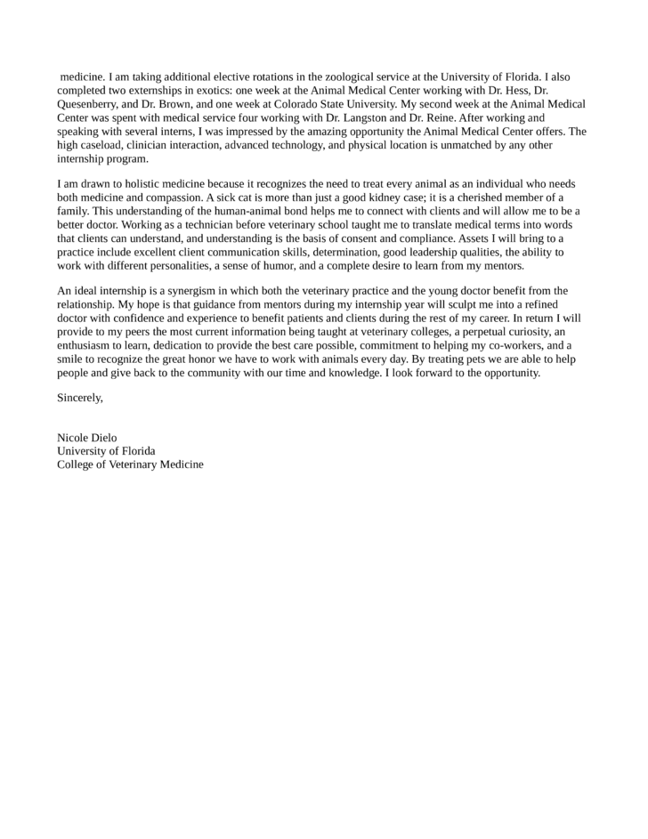 Cover Letter Template Uf