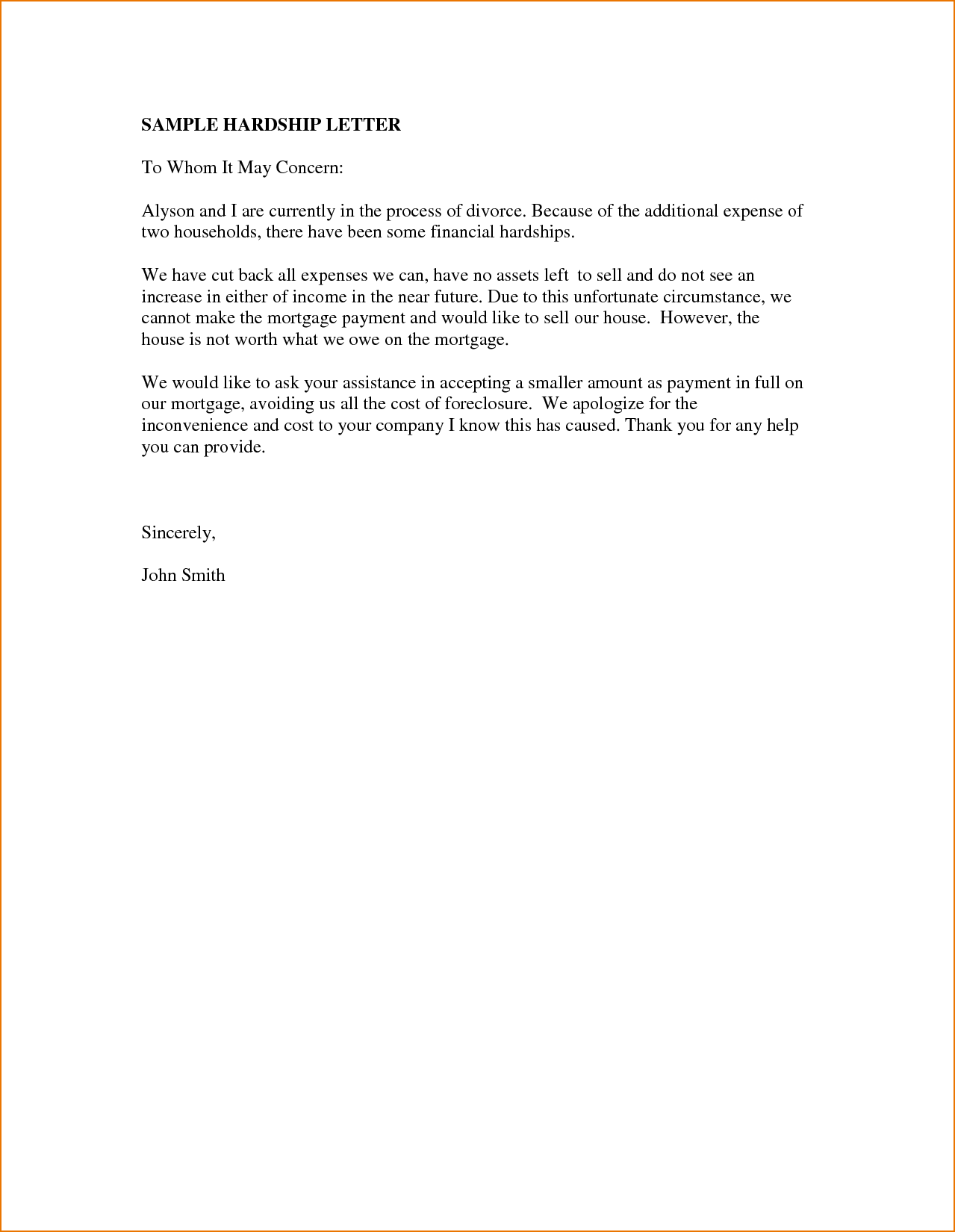 Cover Letter Template To Whom It May Concern