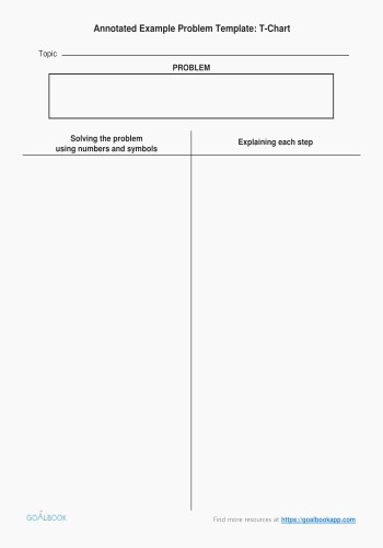 T Chart Cover Letter Template