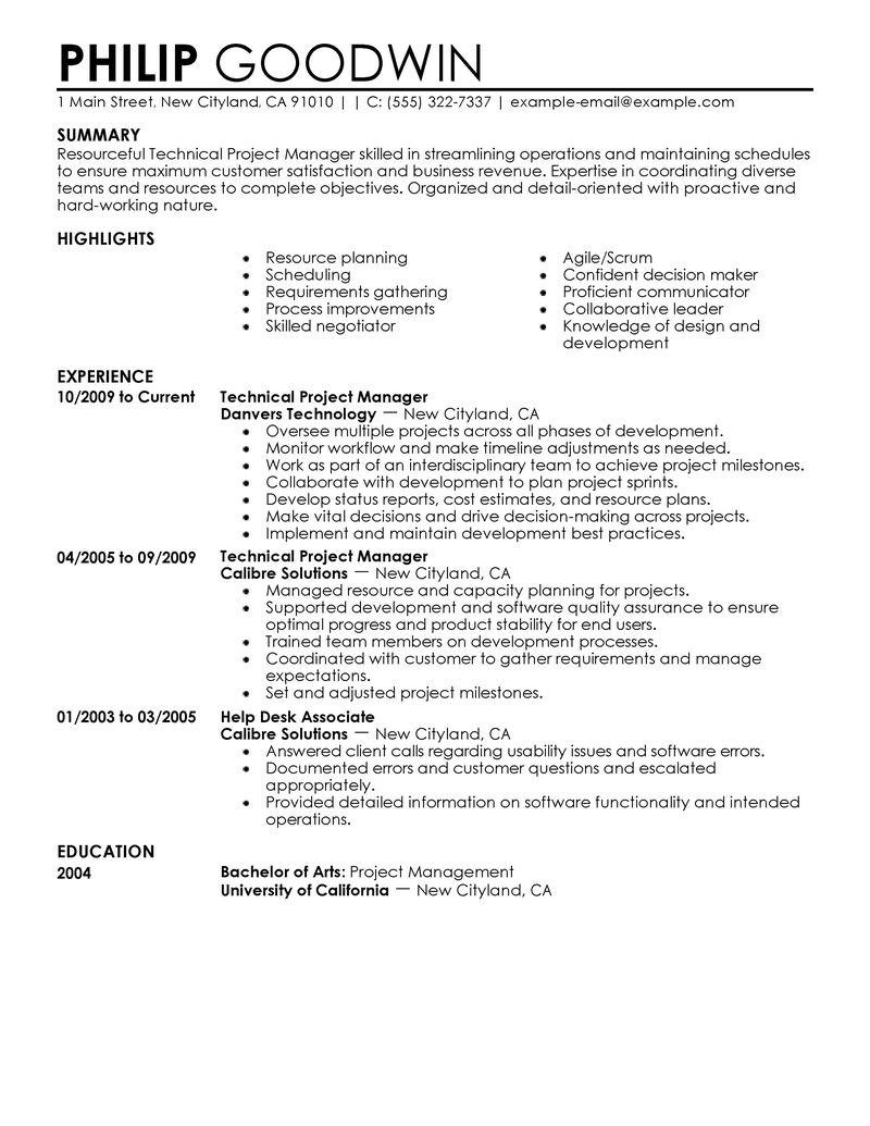 Resume Examples 2018 Students