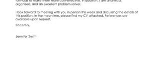 Cover Letter Template Science