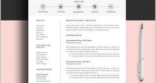 Free Resume Templates Pinterest