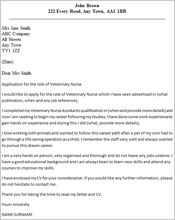 vet assistant cover letter examples - Neyar ...
