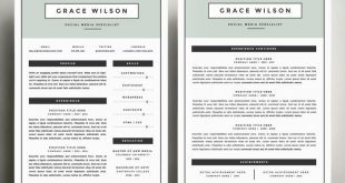 4 Page Cv Template