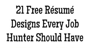 Free Resume Templates Buzzfeed