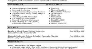 Free Resume Templates Engineering