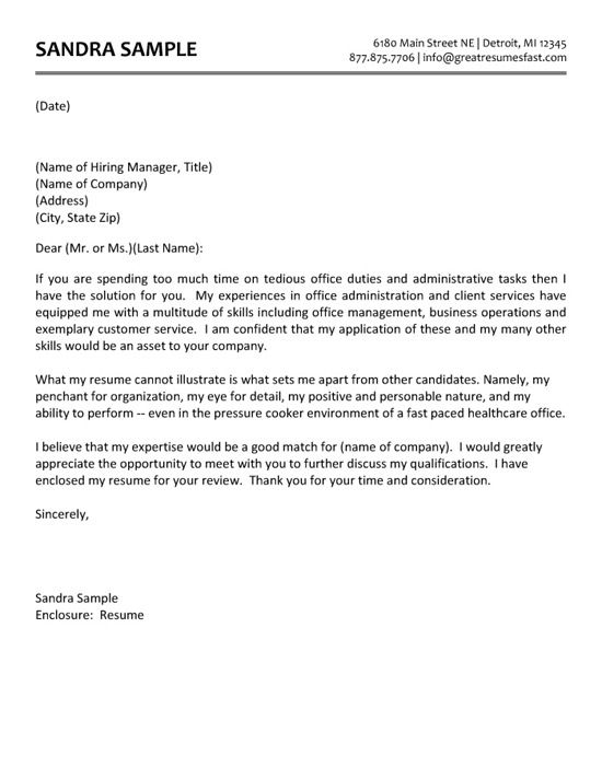 Cover Letter Template Research Assistant - Resume Examples