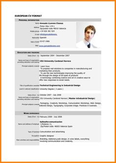 Cv Template Bangladesh - Resume Examples