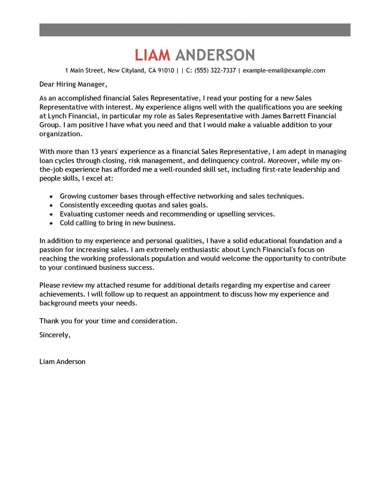 Cover Letter Template Sales Associate - Resume Examples