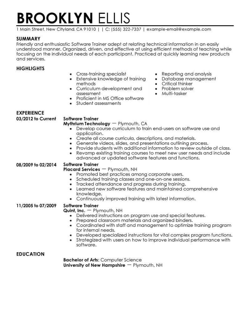 7 Eleven Resume Examples