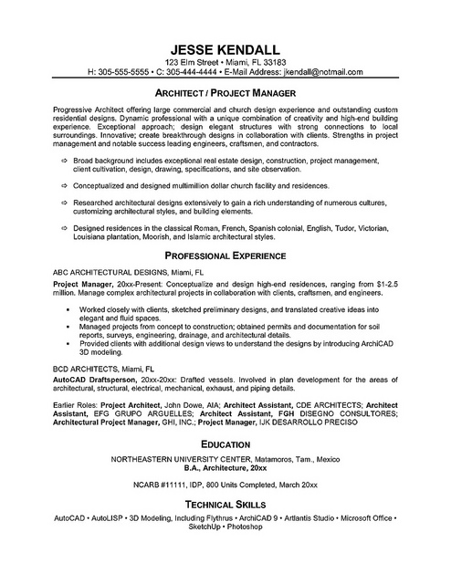 3 Page Resume Examples