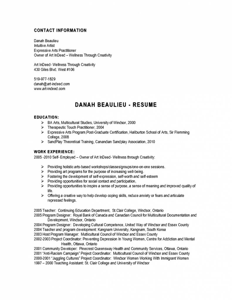 free resume templates indeed