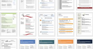Free Resume Templates Editable