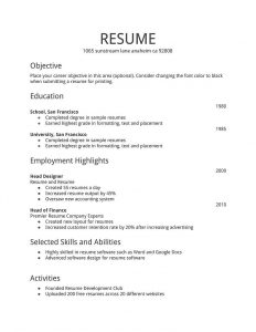 Free Resume Templates Indeed Resume Examples