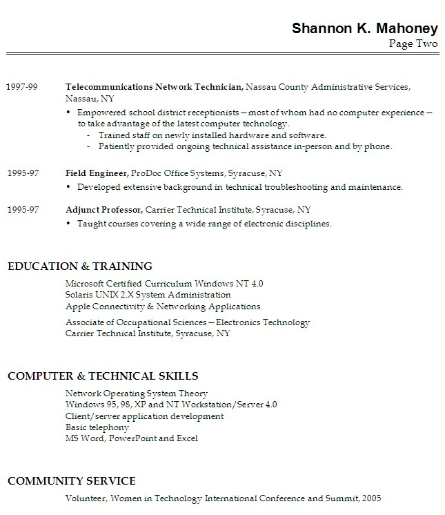 Cover Letter With No Relevant Experience: Free Resume Templates No Job Experience