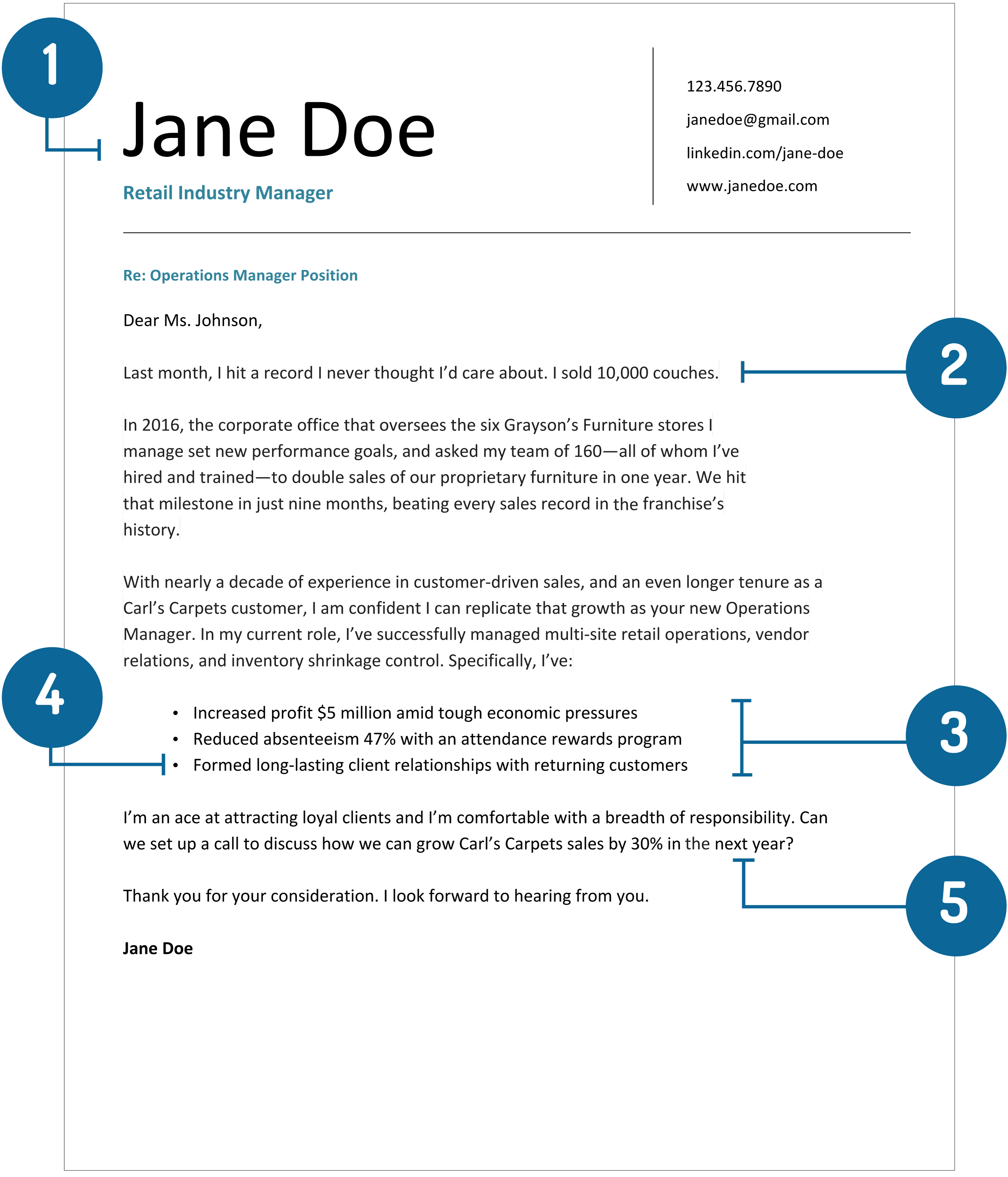 Cover Letter Template 2017