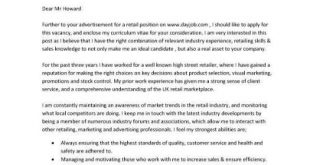 Cover Letter Template For Cv
