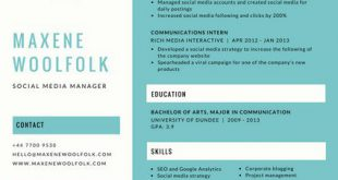 Free Resume Templates Canva