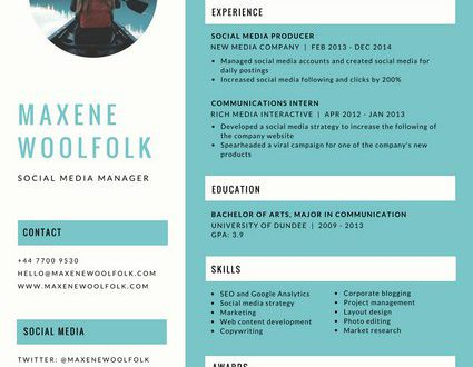 Free Resume Templates Canva