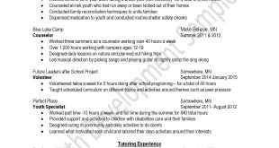 Resume Examples For Over 40