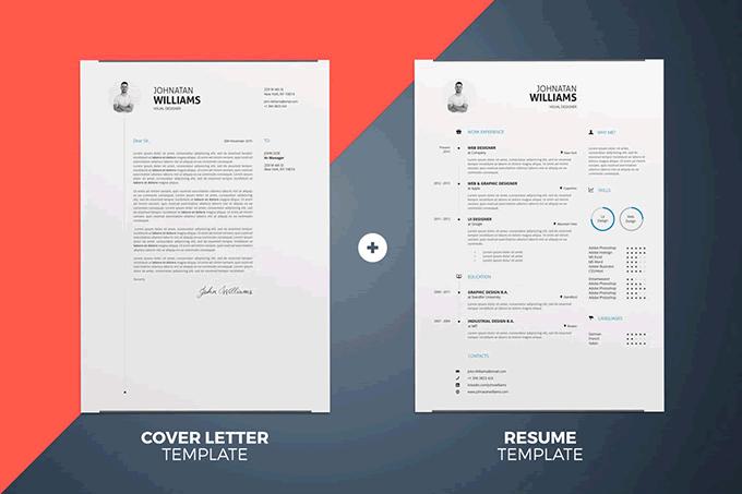 Cover Letter Template Illustrator