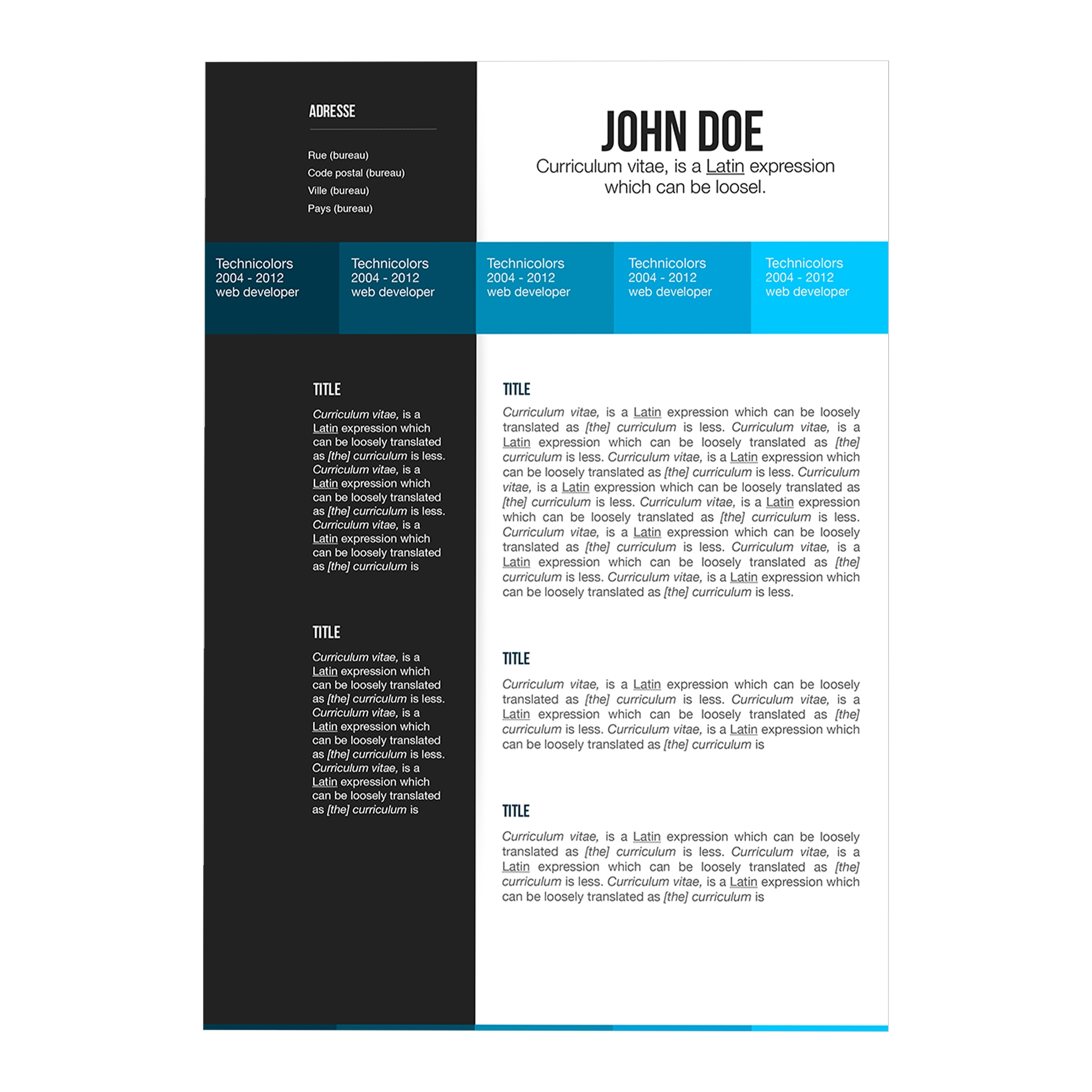 free resume templates apple pages