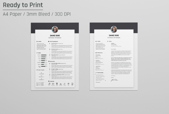 Cover Letter Template Design Free