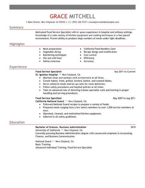 Free Resume Templates Customer Service