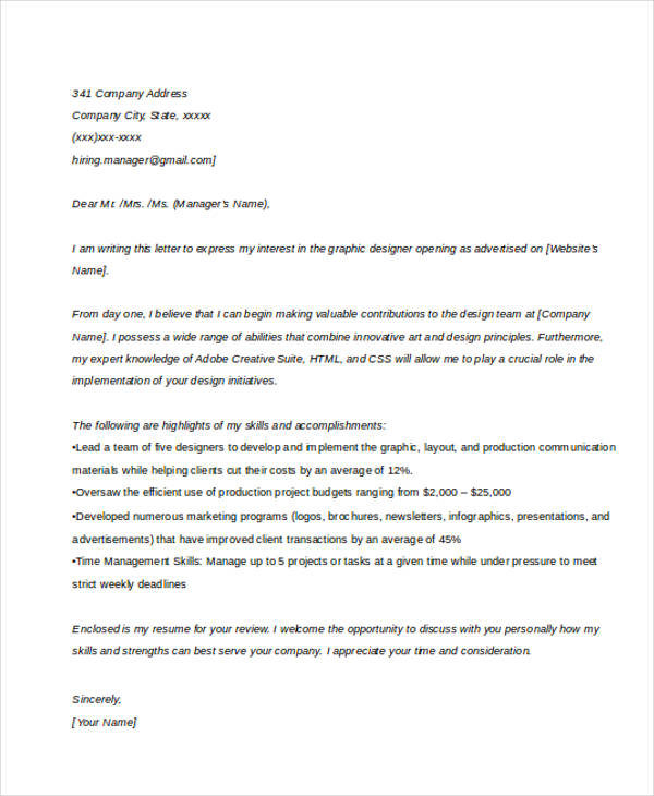 Sample Cover Letter Example Template: Cover Letter Sample Jobsdb