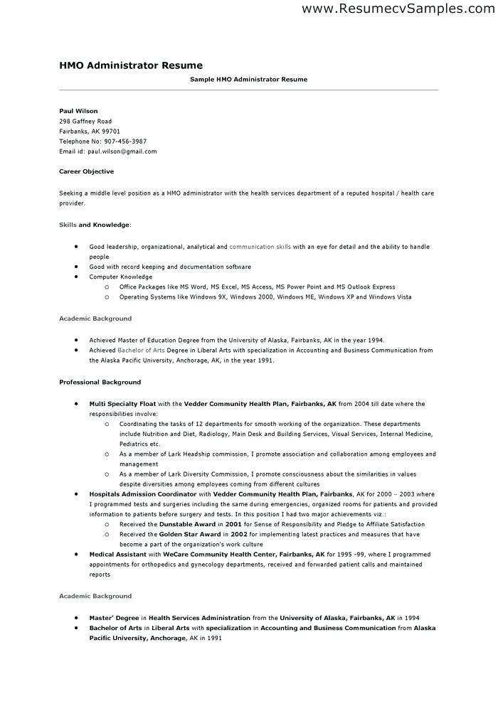 resume examples of skills and abilities