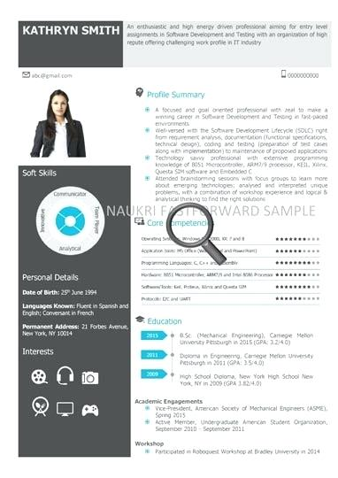 Free Visual Resume Templates